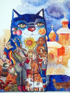 A-Moscou-Chat - CHAT Peinture  Artworks