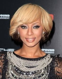 Keri Hilton Custom Celebrity Bob Hairstyle Satisfied Your Blonde Dream #wigs #prettywighair #africanamericanwigs #hair #hairstyle #haircolor #beauty #fashion