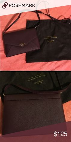 NWT Kate Spade Cedar street mulled wine cross body NWT Kate Spade Cedar street mulled wine cross body clean inside and out kate spade Bags Crossbody Bags