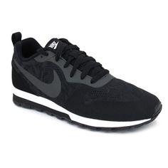 premium selection 37548 6bdae Nike Wmns Md Runner 2 BR 902858 Altura de la suela en el talón de 3 cm  Zapatillas deportivas para mujer hechas con materiales textiles Disponen de  7 ojales ...