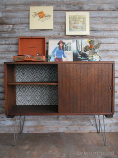 MCM Buffet :: Themed Furniture Makeover Day - brepurposed