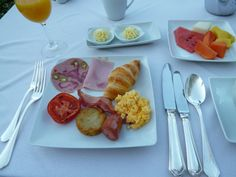 """Prima colazione,  """"Cliff Bay Resort Hotel"""", Funchal Madeira Portugal (Luglio)"""