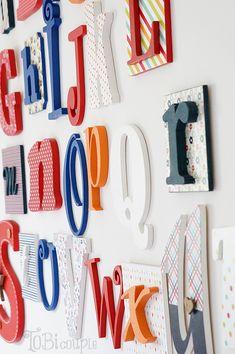 Wooden letters Wooden Alphabet Letters