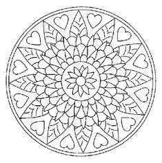 Coloriage De Mandala A Imprimer Et A Colorier