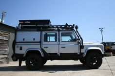 2007 Land Rover Defender 110. Great color.