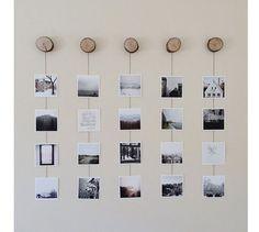 Algunas ideas geniales para que las fotos se conviertan en las protagonistas de tu decoración.