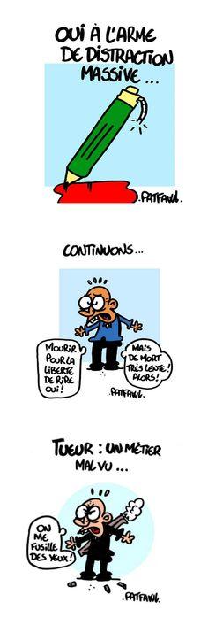 Patfawl (Peter Patfawl) - BD et Handicap: nos dessinateurs sont tous Charlie! - Francia - §