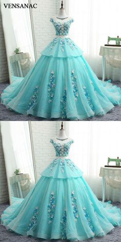 VENSANAC 2017 New Luxury Crystals Boat Neck Long Evening Dresses Cap Sleeve Elegant Lace Court Train Party Prom Ball Gowns