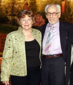 Eli Wallach and Anne Jackson - Married 64 years and still going  March 5, 1948    So refreshing to see a Hollywood marriage alive since the beginning of their lives practically!