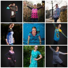 Jahresrückblick 2015 im Nähfrosch Blog  Das war 2015 Nähen Kindergeschichten Alltagschaos