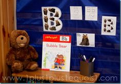 Letter B Bear Theme ~ Animal ABC