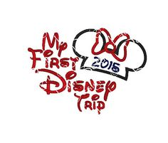 Minnie or Mickey Mouse 2015 Disney My First by LauraBethDesignsLLC