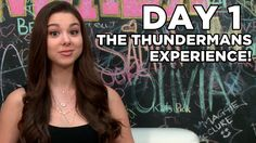 """Kira Kosarin from """"The Thundermans"""" visited the Fanlala studios to talk to us about what she has learned from working on the show. Are you loving """"The Thunde. The Thundermans, Nickelodeon Girls, Kira Kosarin, 10 Days, My Idol, Interview, Celebs, Youtube, Beauty"""