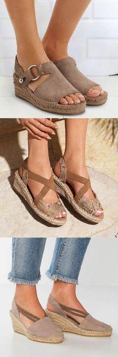 20+ Wedge Sandals ideas | wedge sandals
