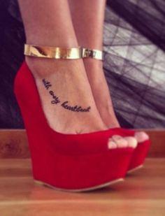RED FAUX SUEDE T-STRAP PLATFORM WEDGE HEELS on Chiq $21.99 http://www.chiq.com/red-faux-suede-t-strap-platform-wedge-heels