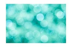 Blue, Green and Turquoise Festive Background Print by Mila May - AllPosters.ca