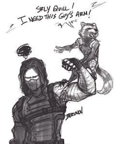 """""""Eu preciso do braço desse cara!"""" Uma fala de Rocky quando ele conhecer Bucky"""