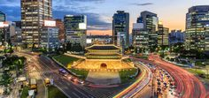 Amazing Things To Do in Seoul, South Korea - Travellers Hutch Busan, National Airlines, South Korea Travel, North Korea, Light Trails, New Media Art, Famous Places, Khalifa, Travel Info