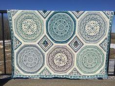 Labyrinth Celtic Blanket