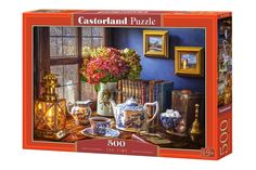 Puzzle 4000 Teile Neu Castorland C-400263-2 Summer Flowers and Cup of Tea