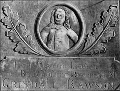 New England gravestone art, 17c. I believe this stone is on Burial Hill in Plymouth, MA