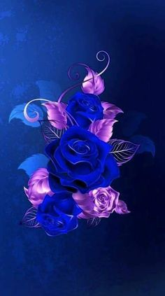 Wallpaper… By Artist Unknown… Source by nurpil Android Wallpaper Girl, Android Wallpaper Abstract, Wallpaper Backgrounds, Iphone Wallpaper, Blue Roses Wallpaper, Flower Phone Wallpaper, Cellphone Wallpaper, Colorful Wallpaper, Beautiful Flowers Wallpapers