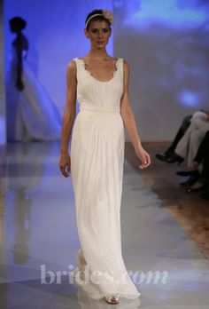 Gorgeous - beachy, casual, elegant. and you have the figure @Becky Hui Chan Timmerman to pull off this cut!  birnbaum and bullock wedding dresses - Spring 2013