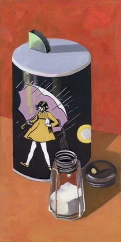 """It Pours"" from ""Pillars"". Artist Michelle Levine"