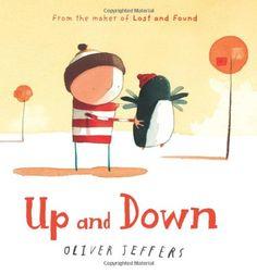 Up and Down de Oliver Jeffers DISPONBLE EN BADIA (CATALAN)