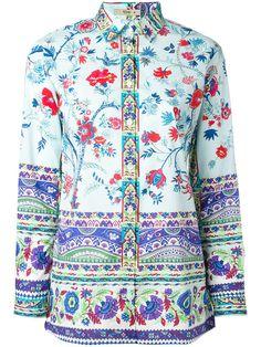 Comprar Etro camisa con estampado floral.