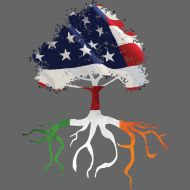 American with Irish roots