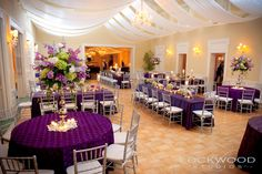 Tampa Yacht and Country Club Ballroom Wedding Reception