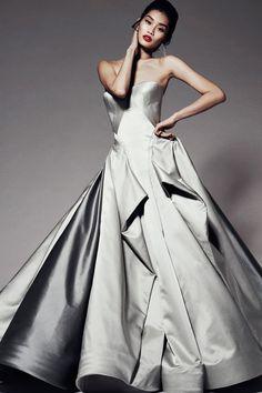 Zac Posen fashion collection, pre-autumn/winter 2014-15