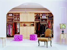 Here is the best closet organization ideas and designs which will inspire you. These are the best and easy option that you can also built in your house. Best Closet Organization, Organization Ideas, Shades Of Purple, Bed, House, Inspiration, Furniture, Design, Home Decor