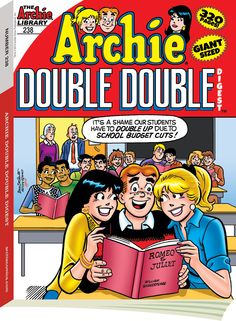 Archie Double Digest 238, Archie Comic Publications, Inc.  https://www.pinterest.com/citygirlpideas/archie-comics/