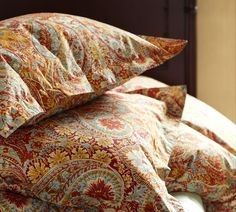 Pottery Barn Bella Paisley in red. This is my bedspread.
