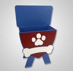 Mini Baú para decoração da sua casa ou festa! Modelo Patrulha Canina  https://www.impaktovisual.com.br/display-mdf/9936-bau-patrulha-canina.html