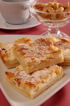 Šťavnatý koláč plný voňavých jabĺk a tvarohu: Zachutí určite všetkým