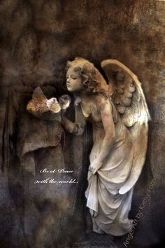 Items similar to Angel Art Photography, Baby Girl Nursery Angel Art Print Decor, Angel Girl Dove of Peace Print, Inspirational Guardian Angel Art Nursery Art on Etsy Angels Among Us, Angels And Demons, Angel Images, I Believe In Angels, Ange Demon, Angel Statues, Angels In Heaven, Heavenly Angels, Guardian Angels