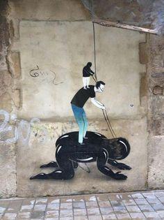 Βαλένθια, Ισπανία Escif | μεγάλη τέχνη του δρόμου, καλύτερα αστοί καλλιτέχνες, καλλιτέχνης του δρόμου, καλλιτέχνες γκράφιτι