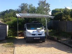Solar PV carport installed by NGPS in Poole