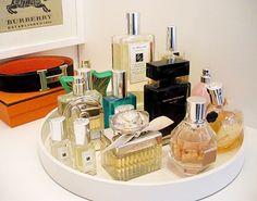 #plateau #presentoir #maquillage #makeuptray #organization #beauté #monvanityideal