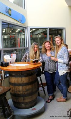 Vermontology Guided Tours customers from Florida enjoying Brewery and Spirits Tour! http://vermontology.com/vt-brewery-and-spirits-day-tour/ #vermont #newengland #brewerytour #brewery #beer #spirits #cider #tours #guidedtours #vtvacation #vttours #travel #fun #cratfbeer #VTBeerTrail