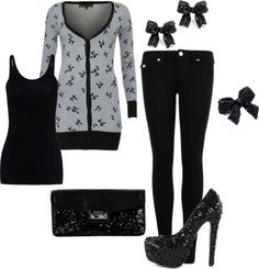 """Winter"" by honeybee20 on Polyvore. Absolutely in love with this outfit!"