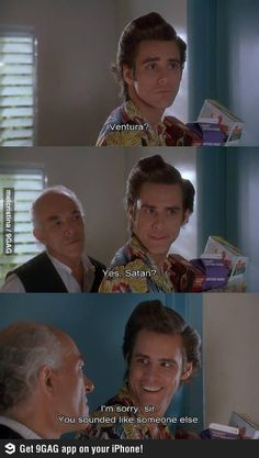 It's the crazy Cartel grandpa in Breaking Bad! ... Also Satan