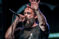 Clutch frontman Neil Fallon at 2012 Artscape in Baltimore, Maryland | My all time favorite beard.  <3