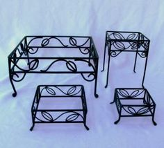 Wrought Iron Risers from Servingware