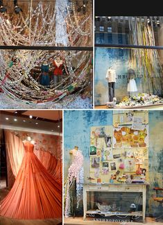 Anthropologie does such a great job at creating attention grabbing displays