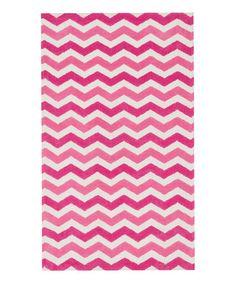Pink Wave Zoey Rug #zulily #zulilyfinds