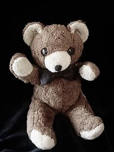 My childhood teddy bear, Paul.